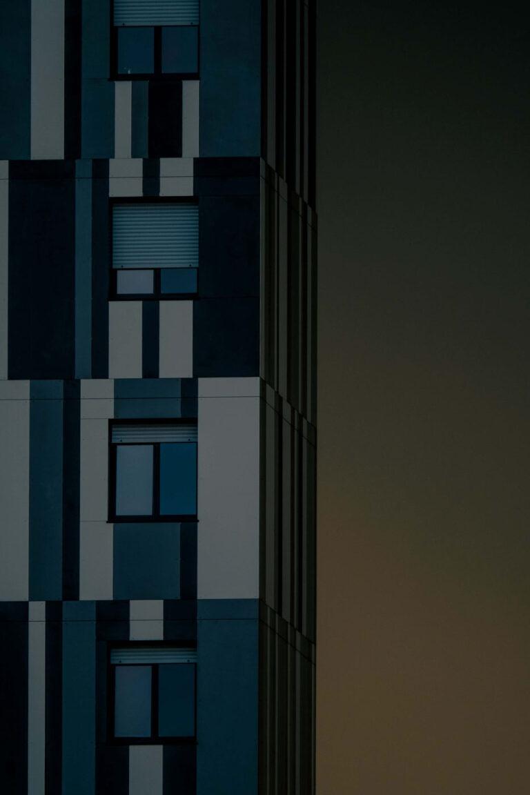 Kraftvolle Blockstruktur